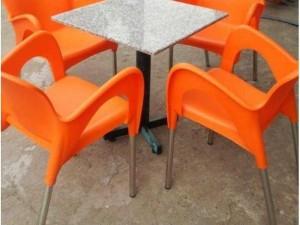 Bộ bàn ghế cafe giá rẻ nhựa nữ hoàn