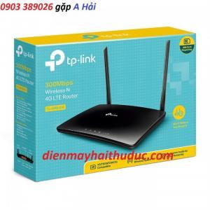 2019-04-29 18:08:08  2 Hãng sản xuất: TP-LINK,  Kiểu TP-MR6400. Xuất xứ: chính hãng Tính năng: Bộ Phát Wifi không dây, hỗ trợ sim 3/ 4G LTE Bộ phát wifi TP-Link TP-MR6400 hỗ trợ sim 3/ 4G LTE 2,200,000