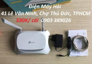 2019-05-02 10:46:38  2 Router phát wifi TP-Link TL-MR 3420 Tương thích với các modem USB  3G / 4G băng tần tốc dộ cao LTE Phát wifi TP-Link TL-MR 3420 hỗ trợ khe USB 3/ 4G tốc độ cao 490,000