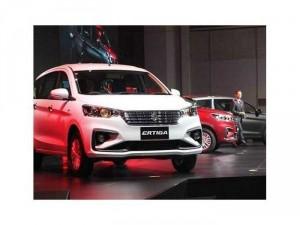 Suzuki Ertiga 7 chỗ ra mắt phiên bản mới