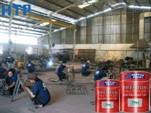 Cần bán sơn dầu Nippon Tilac giá cực rẻ cho công trình sắt thép