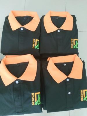 may áo thun đồng phục công nhân bến tre