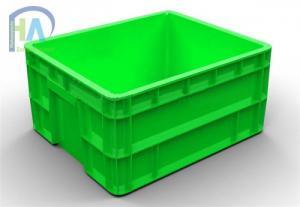 Thùng nhựa đặc (sóng nhựa bít) B11