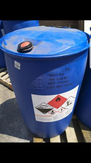 BKC nguyên liệu 80% sát khuẩn, xử lý môi trường nước