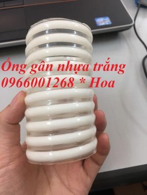 Ống gân nhựa xanh ,ống gân nhựa trắng phi 40,50,60 giá rẻ