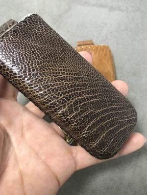 Bao da Nokia 8800 Da cá xấu và da đà điểu xịn