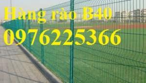 Lưới B40 bọc nhựa ,lưới hàng rào B40 bọc nhựa