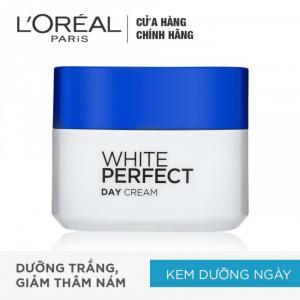 Kem Dưỡng Trắng Da Ban Ngày L'Oreal White Perfect SPF17 PA++ 50ml