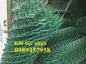 Lưới b40 bọc nhựa PVC 50x50, 60x60, 70x70