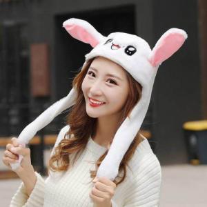 Mũ tai thỏ vẫy tai