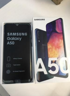 Điện thoại Samsung A50 đen 64G bán tại Tablet Plaza Dĩ An