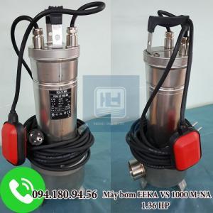 Máy bơm chìm nước thải  FEKA VS (INOX) 1000 M-A không phao công suất 1.36HP