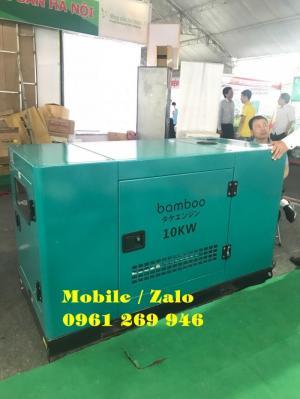 Máy phát điện diesel Bamboo BMB 10.1Euro công suất 10kw giá tốt nhất
