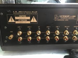 Bán chuyên Ampli Luxman L500 hàng tuyển từ Nhật về