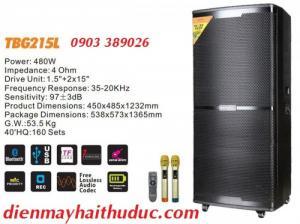 Loa kéo lớn A/D/S TBG215L bass 40 x 2 công suất 480-800W