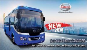 Xe khách Samco Felix Ci New 2019