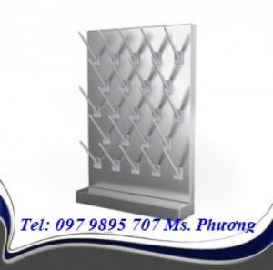 Giá treo dụng cụ thủy tinh (Chất liệu: inox 304)