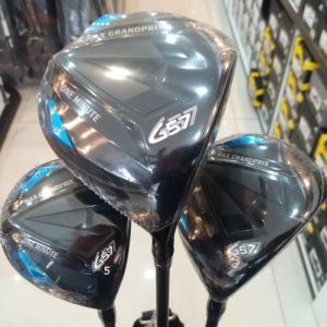 Bộ gậy golf Grand Prix G57 đầu đen siêu ngầu