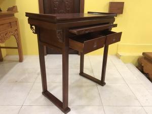 Bàn thờ chung cư gỗ cẩm Nam Phi 1m27 – SD1270