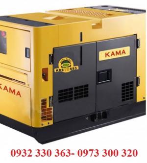 Máy phát điện 9,5KVA KAMA KDE-11SS-máy phát điện nhập khẩu nguyên chiếc