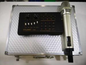 Combo Sound Card V800 Kèm Mic Không Dây...