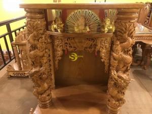 Bàn thờ ông địa ngang 80cm , hàng vip tại Tiền Giang