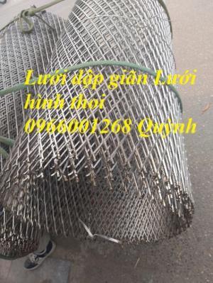 Lưới dập giãn,lưới hình thoi,lưới hình quả trám mắt 10x20,20x40,30x60 giá rẻ