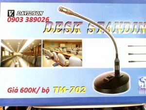 Micro hội nghị Davidson TM-702 loại cổ ngỗng chuyên thuyết trình