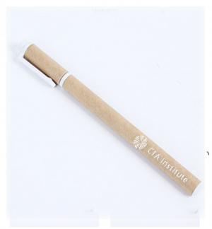 In logo bút bi giấy thân thiện môi trường giá rẻ