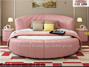 Tuyệt chiêu cho phòng ngủ sang trọng, cao cấp với mẫu giường tròn hiện đại, sành điệu màu đen huyền bí