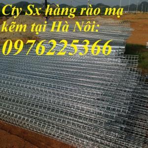 Nhận sản xuất hàng rào lưới thép ,hàng rào mạ kẽm