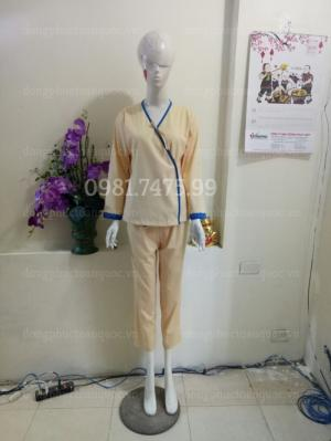 Nhận may quần áo bệnh nhân theo yêu cầu, nhiều mẫu mới cập nhập