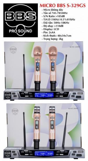 Micro Karaoke BBS 6 Số S-329GS