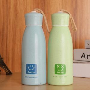 Bình đựng nước lúa mạch in logo công ty - Brandde quà tặng tri ân