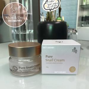 Kem Ốc Sên, GUBONCHO Pure Snail Cream (Hàn Quốc)