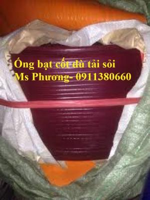 Ống bạt cốt dù tải sỏi chi lê màu tím Ø80