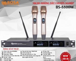 Micro Karaoke Bosa BS-8800W Edition Chuyên Nghiệp