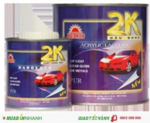 Dầu bóng 2K hệ Acrylic - sơn phủ ngoài, bóng, sáng bền bỉ, chống trầy xước, bảo vệ bề mặt ô tô, mô tô