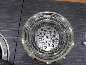 Bếp nướng than hoa đặt âm bàn Vỉ Inox 304 cao cấp