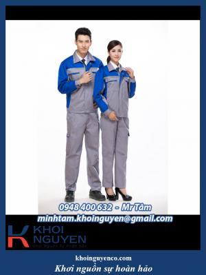 Đồng phục công nhân - Đồng phục công ty - Cơ sở may đồng phục