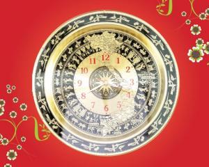 Đồng hồ mặt trống đồng Việt Nam mẫu mới nhất hiện nay