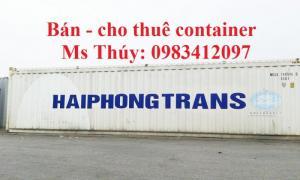 Container, vận chuyển hàng hóa bằng container