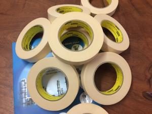 Băng keo giấy 3M 250 YT kiểm tra độ dính mực in, sơn, xi mạ
