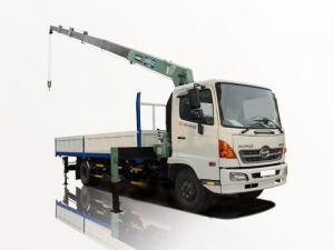 xe tải hino FC 6 tấn gắn cẩu 3 tấn 6 khúc