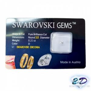 Trang sức đá swarovski dùng để đính răng 3.0ly