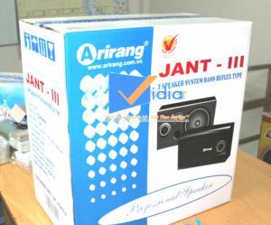 Loa Arirang Jant III công suất 400W chính hãng bảo hành toàn quốc
