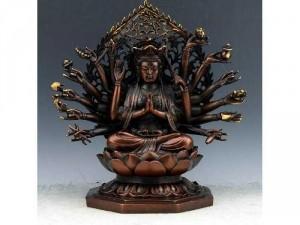 Tôn Tượng Phật Mẫu Chuẩn Đề 25 cm