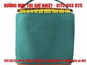 Đặt may túi giữ nhiệt theo yêu cầu giá rẽ