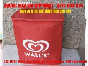 Công ty chuyên may Túi cách nhiệt, Túi ủ ấm, túi đá, giỏ thùng đá