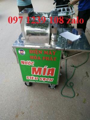 Máy ép mía 1 cây bàn ngắn mô tơ với, giá cực rẻ, hàng có sẵn tại Mỹ Đình